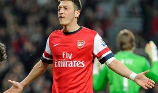 Arsenal-Coach Wenger: Özil wird in jedem Spiel stärker (Foto)