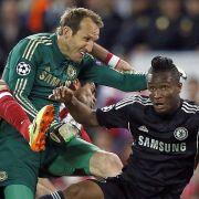 Chelsea gegen Atlético wird eine CL-Schlacht. Mittendrin: Keeper Marc Schwarzer (41).