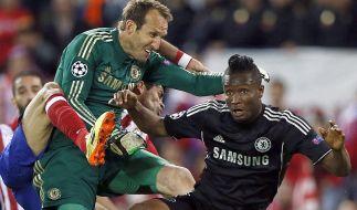 Chelsea gegen Atlético wird eine CL-Schlacht. Mittendrin: Keeper Marc Schwarzer (41). (Foto)