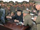 Nordkoreanische Schießübungen an Seegrenze zum Süden (Foto)