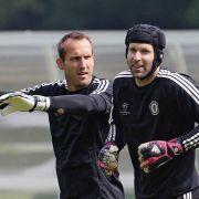 Cech und Terry vor Halbfinale wieder im Training (Foto)