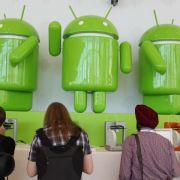 Drei von vier Smartphones sind Androiden (Foto)