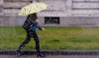 Regen ist noch lange kein Grund in der Wohnung zu hocken: Gummistiefel an, Regenschirm auf und ab ins Freie. (Foto)