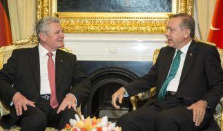Eklat bei Gauck-Besuch in der Türkei (Foto)