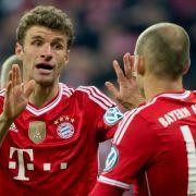 Bayern mit Müller gegen Real - Lahm verteidigt rechts (Foto)