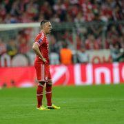 Champions-League Frust (Foto)
