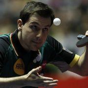 Tischtennis-Herren bei WM weiter auf Kurs (Foto)