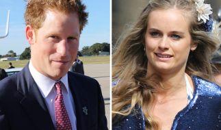 Liebesglück adé: Medienberichten zufolge sind Prinz Harry und Cressida Bonas getrennt. (Foto)