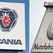 Volkswagen muss bei Scania-Übernahme in die Verlängerung (Foto)