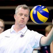 Volleyball-Bundestrainer Heynen beruft sechs Neulinge (Foto)