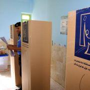 Anschläge überschatten Irak-Wahl (Foto)