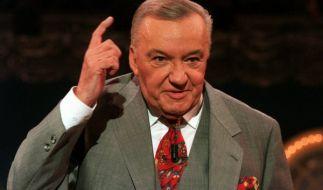Der ehemalige Fernsehmoderator Heinz Schenk ist im Alter von 89 Jahren am 1. Mai 2014 gestorben. (Foto)