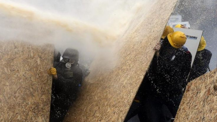 Zusammenstöße am 1. Mai in Istanbul (Foto)