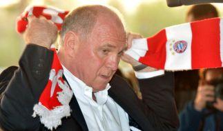 Uli Hoeneß legt seine Mitgliedschaft in der Hall of Fame nieder. (Foto)