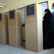 Hohe Wahlbeteiligung trotz Anschlägen im Irak (Foto)