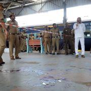 Bombenanschlag auf Expresszug in Indien (Foto)