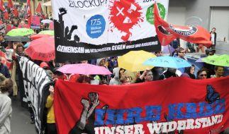 Tausende bei «Revolutionären 1.-Mai-Demos» in Berlin und Hamburg (Foto)