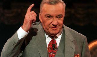 Fernsehstar Heinz Schenk mit 89 Jahren gestorben (Foto)