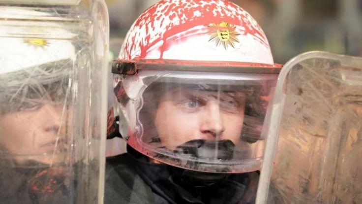 Mai-Demonstrationen: Schwere Krawalle blieben aus (Foto)