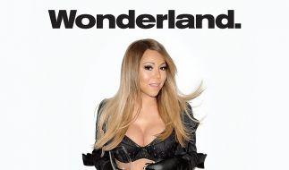 So sexy zeigt sich Mariah Carey für das «Wonderland Magazine». (Foto)