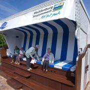 Mega-Strandkorb auf Usedom eröffnet (Foto)
