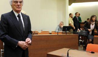Staatsanwalt glaubt Ecclestone nicht (Foto)