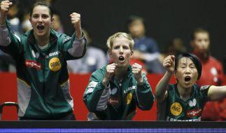 Tischtennis-Damen im WM-Viertelfinale gegen Hongkong (Foto)
