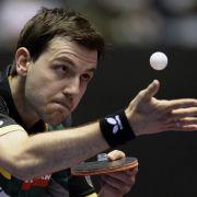 Deutsch-chinesisches Doppel bei Tischtennis-WM erlaubt (Foto)