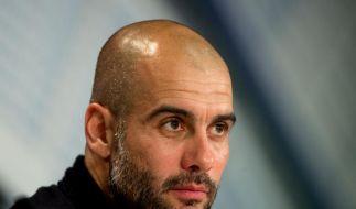 Pep Guardiola ist von seiner Fußball-Philosophie überzeugt. (Foto)
