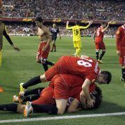 Spanier und Portugiesen herrschen im Europacup (Foto)