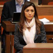 Unterstützung: Ecclestone mit Gattin beim Prozess (Foto)