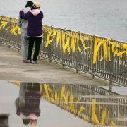 Hinweise auf Überladung der südkoreanischen Unglücksfähre (Foto)