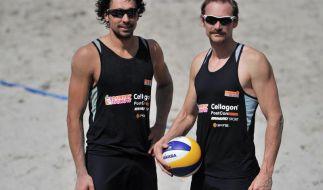 Beachvolleyball: Erdmann/Matysik im Halbfinale (Foto)