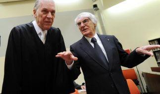 Ecclestones Anwälte «sehr, sehr zufrieden» (Foto)