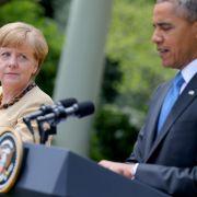 Merkel und Obama drohen Russland mit weiteren Sanktionen  (Foto)