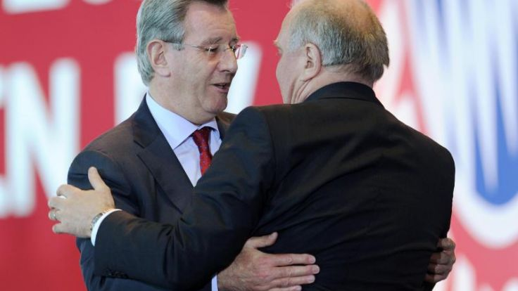Hopfner neuer Präsident des FC Bayern (Foto)