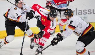 DEB-Team in WM-Form:2:0 gegen Erzrivale Schweiz (Foto)