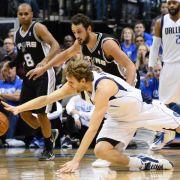 Nowitzki und «Mavs» erzwingen siebtes Spiel gegen Spurs (Foto)