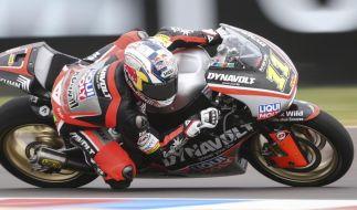 Cortese zum zweiten Mal in Moto2 auf Startplatz zwei (Foto)