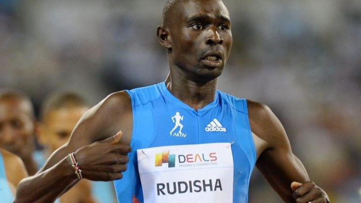800-Meter-Weltrekordler Rudisha sagt Start in Doha ab (Foto)