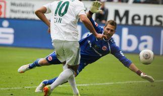 2:0 in Frankfurt: Leverkusen weiter auf CL-Kurs (Foto)