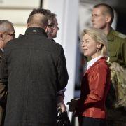 Freigelassene OSZE-Militärbeobachter in Berlin gelandet (Foto)