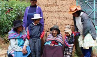 116-jährige Peruanerin kassiert erstmals staatliche Rente (Foto)