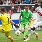 «Stolper-Olic» lässt Wolfsburg hoffen (Foto)