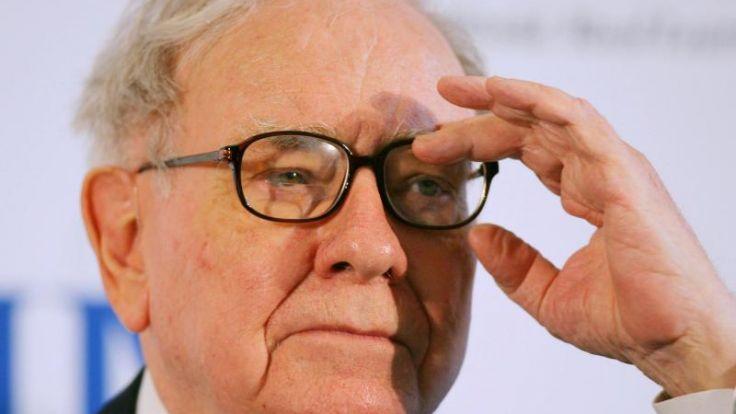 US-Starinvestor Buffett hat kleinen Durchhänger (Foto)