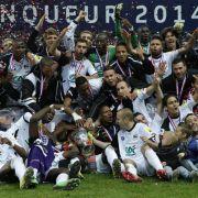 Fußball-Zwerg Guingamp erneut Pokalsieger in Frankreich (Foto)