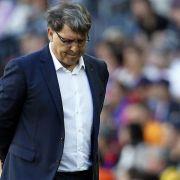 Barça sagt dem Titelkampf «adiós» - Trainer-Abschied? (Foto)