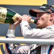 Wittmann gewinnt DTM-Auftakt:«Große Party feiern» (Foto)