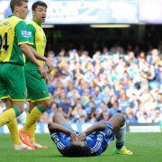 Chelsea nur 0:0 gegen Norwich - Titelchancen fast weg (Foto)