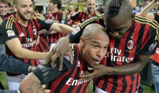AC Mailand gewinnt Stadtderby gegen Inter (Foto)